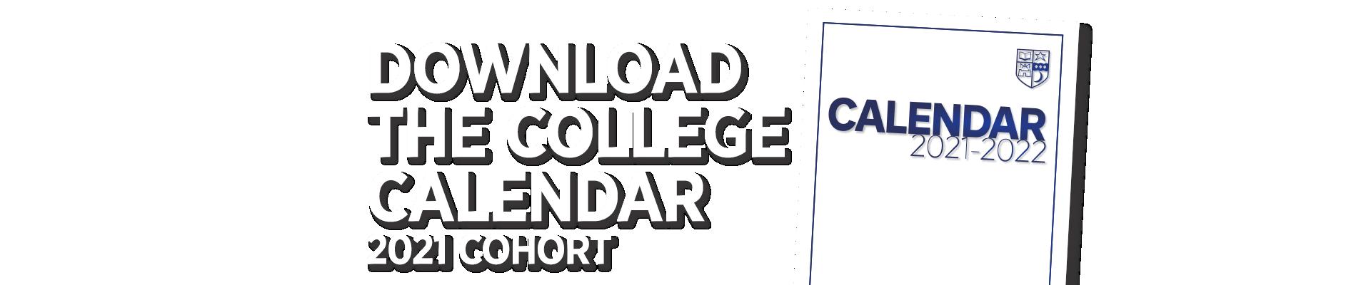 Download the College Calendar